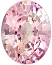 Gem Padparadscha Sapphire Unheated GIA Certified Oval Cut, Medium Pink Orange Color in 7.2 x 5.7 mm, 1.2 carats