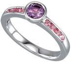 Gemstone Stackable Ring