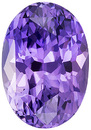 Sharp Rich Lavender Purple Sapphire Loose Gem in Oval Cut, 8.8 x 6.1 mm, 2.19 carats - SOLD