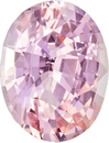 Untreated  Pink Orange Peach Sapphire Madagascar Gem in Oval Cut, 7.0 x 5.4 mm, 1.09 Carats - With GRS Certficate