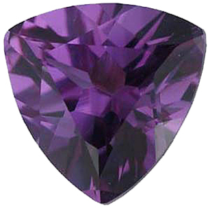 Imitation Alexandrite Trillion Cut Gems