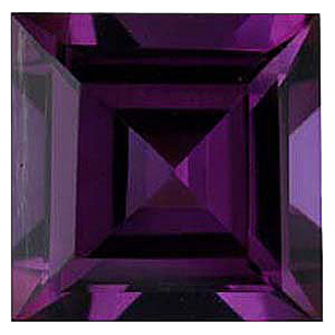 Imitation Alexandrite Square Cut Gems