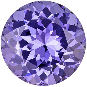 Spinel Loose Gemstone in Round Cut, Popular Lilac Purple Color, 6.4 mm, 1.20 carats - SOLD