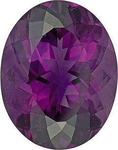 Gorgeous Bright Rich Huge Purple Oval Faceted Amethyst, 23.5 x 18.9mm, 31.57 carats - SOLD