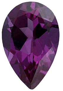 Imitation Alexandrite Pear Cut Gems