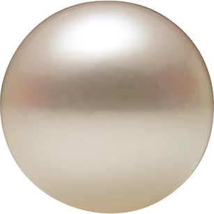 Natural White Akoya Pearls in Undrilled AAA Grade