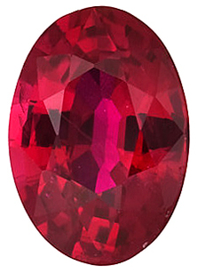 Grade AAA - Oval Genuine Ruby 4.00 x 3.00 mm to 7.00 x 5.00 mm