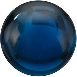 Grade AA - Cabochon Round Genuine Blue Sapphire 2.25 mm to 5.00 mm