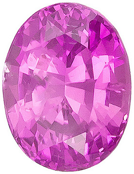 Grade AAA - Oval Genuine Pink Sapphire 4.00 x 3.00 mm to 7.00 x 5.00 mm