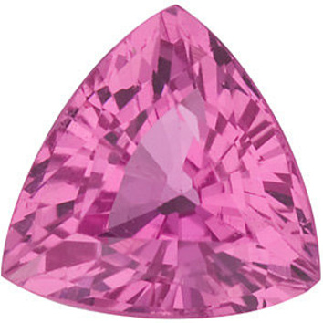 Grade AAA - Trillion Genuine Pink Sapphire 3.00 mm to 6.50 mm