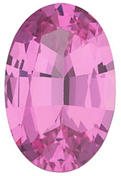 Grade GEM PINK SPINEL Oval Cut - Calibrated