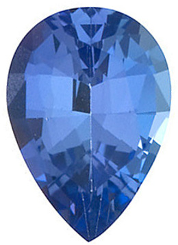 Calibrated Size Natural Loose Pear Shape Tanzanite Gem Grade AAA, 6.00 x 4.00 mm in Size, 0.45 Carats