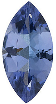 Top Quality Natural Standard Size Marquise Shape Tanzanite Gem Grade AA, 8.00 x 4.00 mm in Size, 0.6 Carats