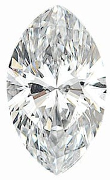 Diamond Melee, Marquise Shape, G-H Color - VS Clarity, 8.00 x 4.00 mm in Size, 0.5 Carats