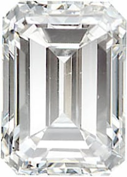 Diamond Melee, Emerald Shape, G-H Color - VS Clarity, 3.75 x 2.75 mm in Size, 0.21 Carats