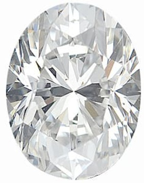 Diamond Melee, Oval Shape, G-H Color - VS Clarity, 4.50 x 3.50 mm in Size, 0.2 Carats