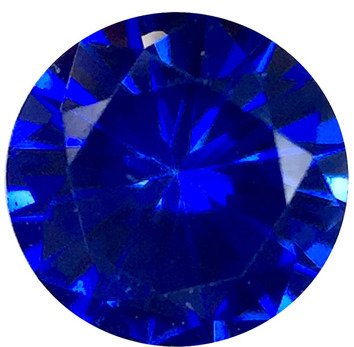 Grade AAA - Precision Diamond Cut Round Genuine Blue Sapphire 1.50 mm to 4.00 mm