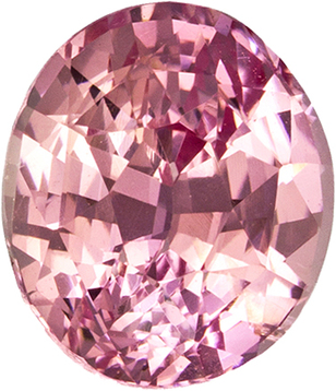 Unheated Padparadscha Pink Orange Sapphire Unheated GIA Gem in Oval Cut, 6.58 x 5.63 x 4.33 mm, 1.24 carats - SOLD