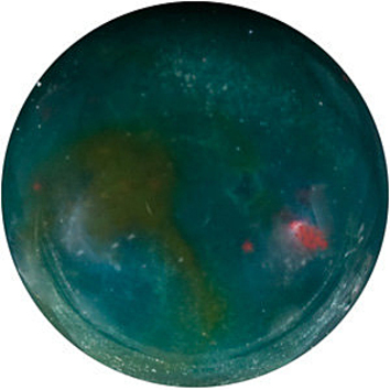 Calibrated Top Quality Loose Round Shape Cabochon Bloodstone Faceted Loose Genuine Gemstone Grade AAA, 5.00 mm in Size