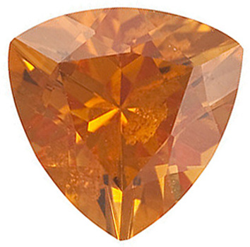 Genuine Calibrated Top Quality Trillion Shape Citrine Gemstone Grade AAA, 6.00 mm in Size, 0.67 carats
