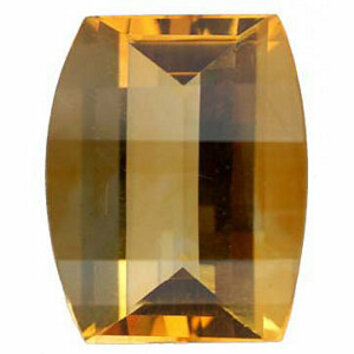 Natural Standard Size Loose Barrel Shape Fantasy Roll Top Citrine Gemstone Grade AA, 10.00 x 8.00 mm in Size, 2.8 carats