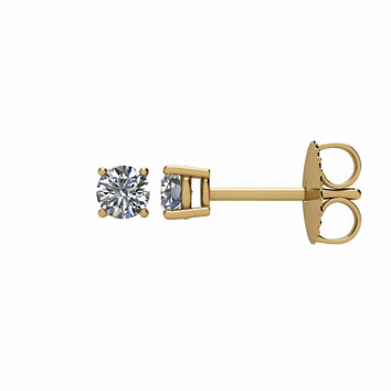1/3 Carat Total Weight Diamond Friction Post Stud Earring