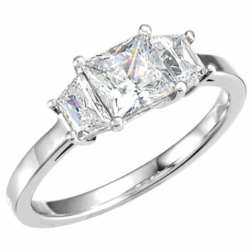 14K Yellow Band 2 for 6.0 Engagement Ring