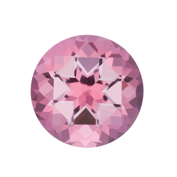 Genuine Cut Quality Round Shape Baby Pink Passion Topaz Gemstone Grade AAA, 9.00 mm in Size