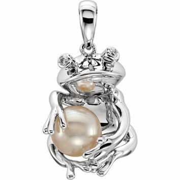 Frog Pendant for Pearl