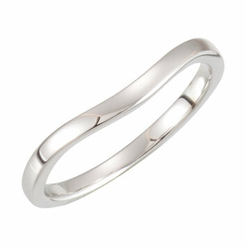 Platinum Band 2 for 6.0 Engagement Ring