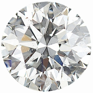 0.50 Carat Total Weight Genuine Diamond Parcel 7 Pieces, 2.51 - 2.73 mm Size Range  SI2/3 Clarity - I-J Color