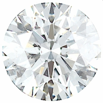 0.50 Carat Total Weight Genuine Diamond Parcel 5 Pieces, 2.74 - 3.23 mm Size Range  SI2/3 Clarity - G-H Color