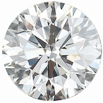 0.50 Carat Total Weight Genuine Diamond Parcel 5 Pieces, 2.74 - 3.23 mm Size Range  SI1 Clarity - I-J Color