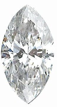 Diamond Melee, Marquise Shape, G-H Color - I1 Clarity, 5.00 x 2.50 mm in Size, 0.15 Carats