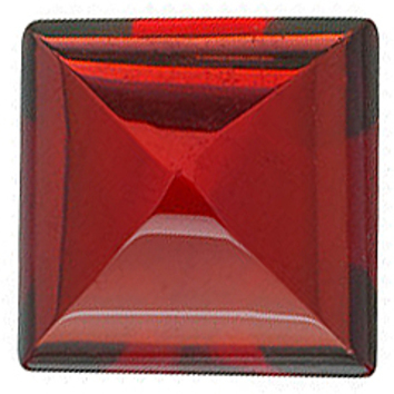 Grade AAA - Cabochon Square Genuine Red Garnet 3.00 mm to 8.00 mm
