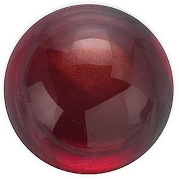 Grade AAA - Cabochon Round Genuine Red Garnet 3.00 mm to 7.00 mm