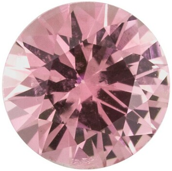 Grade A - Precision Cut Round Genuine Pink Sapphire 1.50 mm to 4.00 mm