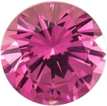 Grade AAA - Precision Cut Round Genuine Pink Sapphire 1.50 mm to 4.00 mm