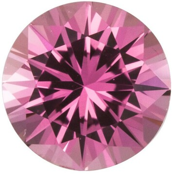 Grade AA - Precision Cut Round Genuine Pink Sapphire 1.50 mm to 4.00 mm