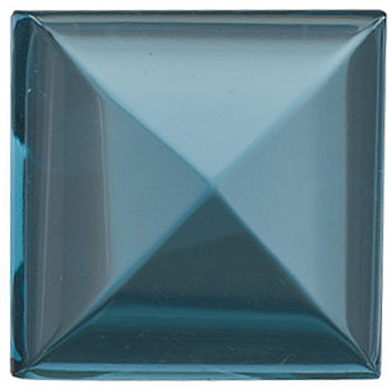 Grade AAA -Cabochon Square Genuine London Blue Topaz 5.00 mm to 10.00 mm