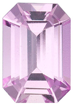 Grade A - Emerald Genuine Pink Sapphire 4.00 x 3.00 mm to 6.00 x 4.00 mm