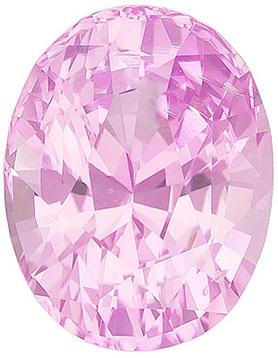Grade A - Oval Genuine Pink Sapphire 4.00 x 3.00 mm to 7.00 x 5.00 mm