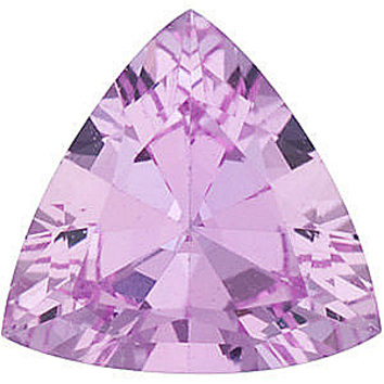 Grade A - Trillion Genuine Pink Sapphire 4.00 mm to 6.00 mm