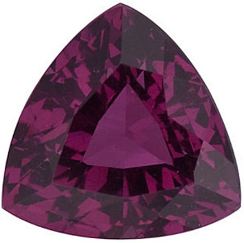 Grade AAA - Trillion Genuine Rhodolite Garnet 4.00 mm to 6.00 mm