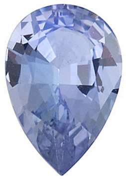 Cut Natural Quality Pear Shape Tanzanite Gem Grade A, 6.00 x 4.00 mm in Size, 0.45 Carats