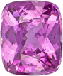 No Heat Icy Pure Pink Sapphire Gem in Cushion Cut,  GIA Certified in 10.29 x 8.52 x 5.69 mm, 4.7 carats