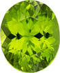 Great Buy Peridot Oval Gemstone in Vivid Pure Lime Green Color, 13.5 x 11 mm, 6.86 Carats