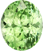 2.17 carats Mint Green Oval Cut Garnet Loose Gem, Neony Mint Green, 8.2 x 6.7 mm Size