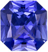 6 x 5.6 mm, 0.91 carats No Heat Blue Sapphire Gemstone in Radiant Cut, Rich Cornflower Blue Color  - GIA Certified