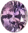 3.21 carats - GIA Certified Multicolor No Treatment Purple Sapphire Gemstone in Oval Cut, Purple, Pink & Orange, 9.3 x 8.0 mm Oval Cut